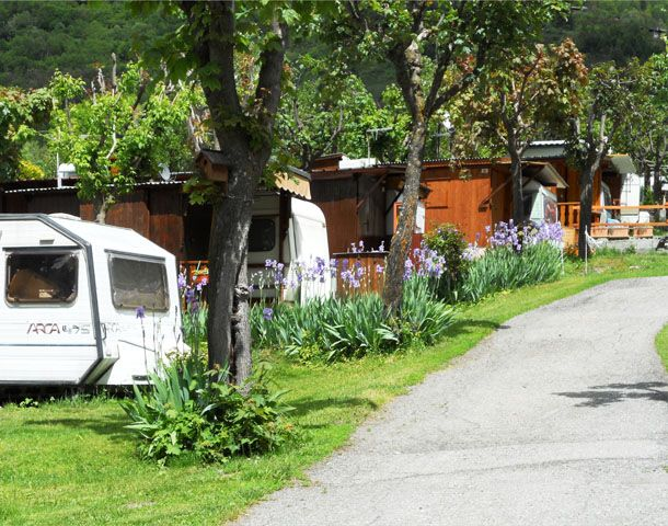 Camping International Mont Blanc / 1.000 m / La Salle
